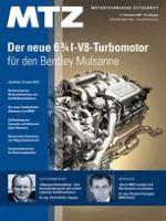 MTZ - Motortechnische Zeitschrift 11/2009