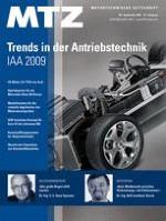 MTZ - Motortechnische Zeitschrift 9/2009