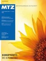 MTZ - Motortechnische Zeitschrift 12/2010