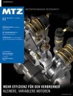MTZ - Motortechnische Zeitschrift 3/2010