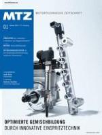 MTZ - Motortechnische Zeitschrift 1/2011