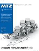 MTZ - Motortechnische Zeitschrift 12/2011
