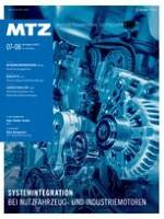 MTZ - Motortechnische Zeitschrift 7-8/2013