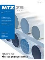 MTZ - Motortechnische Zeitschrift 1/2014