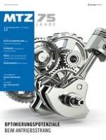 MTZ - Motortechnische Zeitschrift 12/2014