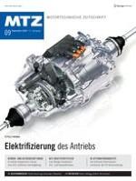 MTZ - Motortechnische Zeitschrift 9/2016