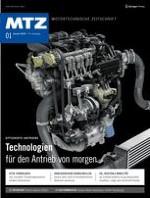 MTZ - Motortechnische Zeitschrift 1/2018