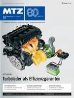 MTZ - Motortechnische Zeitschrift 10/2019
