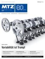 MTZ - Motortechnische Zeitschrift 4/2019