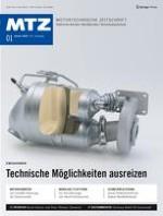 MTZ - Motortechnische Zeitschrift 1/2020