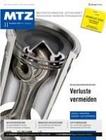 MTZ - Motortechnische Zeitschrift 11/2020