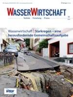 WASSERWIRTSCHAFT 11/2018