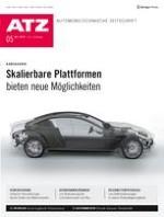 ATZ - Automobiltechnische Zeitschrift 5/2019