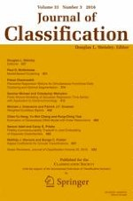 Journal of Classification 3/2016