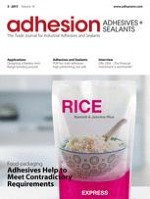adhesion ADHESIVES + SEALANTS 2/2013