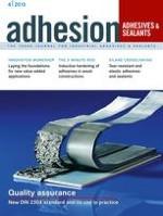 adhesion ADHESIVES + SEALANTS 4/2015