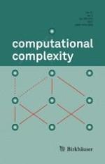 computational complexity 3/2012