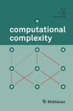 computational complexity 1/2015