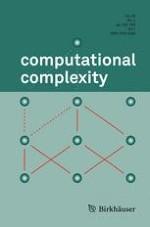 computational complexity 4/2017