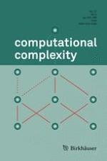 computational complexity 2/2018