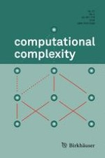 computational complexity 4/2018