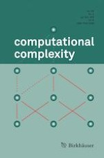 computational complexity 4/2019