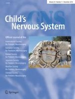 Child's Nervous System 11/2018