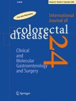 International Journal of Colorectal Disease 9/2009