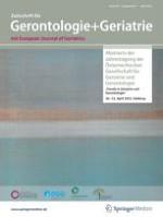 Zeitschrift für Gerontologie und Geriatrie 1/2001