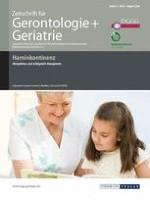 Zeitschrift für Gerontologie und Geriatrie 4/2008