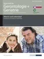 Zeitschrift für Gerontologie und Geriatrie 5/2008