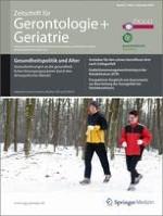 Zeitschrift für Gerontologie und Geriatrie 6/2009