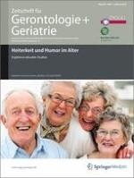 Zeitschrift für Gerontologie und Geriatrie 1/2010