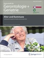 Zeitschrift für Gerontologie und Geriatrie 2/2010