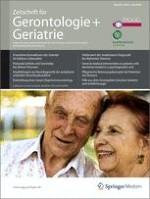 Zeitschrift für Gerontologie und Geriatrie 3/2010
