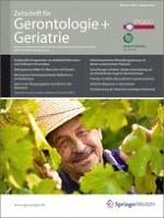 Zeitschrift für Gerontologie und Geriatrie 5/2010