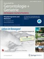 Zeitschrift für Gerontologie und Geriatrie 1/2011
