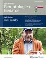 Zeitschrift für Gerontologie und Geriatrie 2/2011