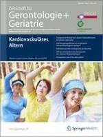 Zeitschrift für Gerontologie und Geriatrie 3/2011