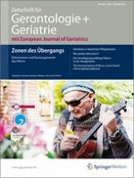 Zeitschrift für Gerontologie und Geriatrie 5/2011