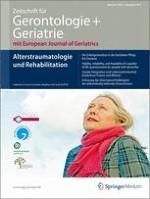 Zeitschrift für Gerontologie und Geriatrie 6/2011