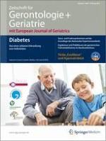 Zeitschrift für Gerontologie und Geriatrie 2/2012