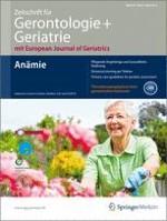Zeitschrift für Gerontologie und Geriatrie 3/2012