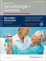 Zeitschrift für Gerontologie und Geriatrie 4/2012