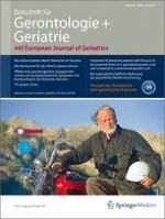 Zeitschrift für Gerontologie und Geriatrie 5/2012