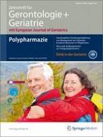 Zeitschrift für Gerontologie und Geriatrie 6/2012
