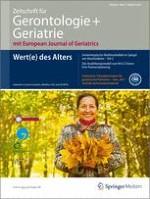 Zeitschrift für Gerontologie und Geriatrie 7/2012