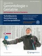 Zeitschrift für Gerontologie und Geriatrie 8/2012