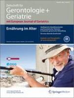 Zeitschrift für Gerontologie und Geriatrie 5/2013