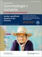 Zeitschrift für Gerontologie und Geriatrie 6/2013